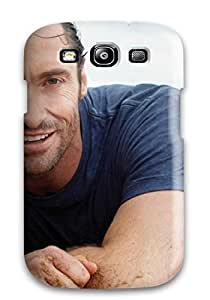 Excellent Design Men Male Celebrity Hugh Jackman On The Beach8722 YY-ONE For Galaxy S3