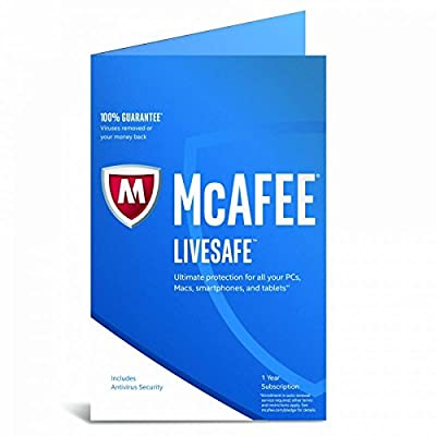 McAfee LiveSafe (1) Year Subscription