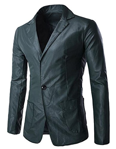 Vogue Leather Blazer - 6