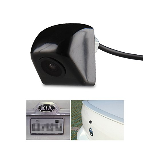 CAR ROVER Waterproof Night Vision HD CCD 170° Viewing Field Car Rear View Backup Camera(Black)
