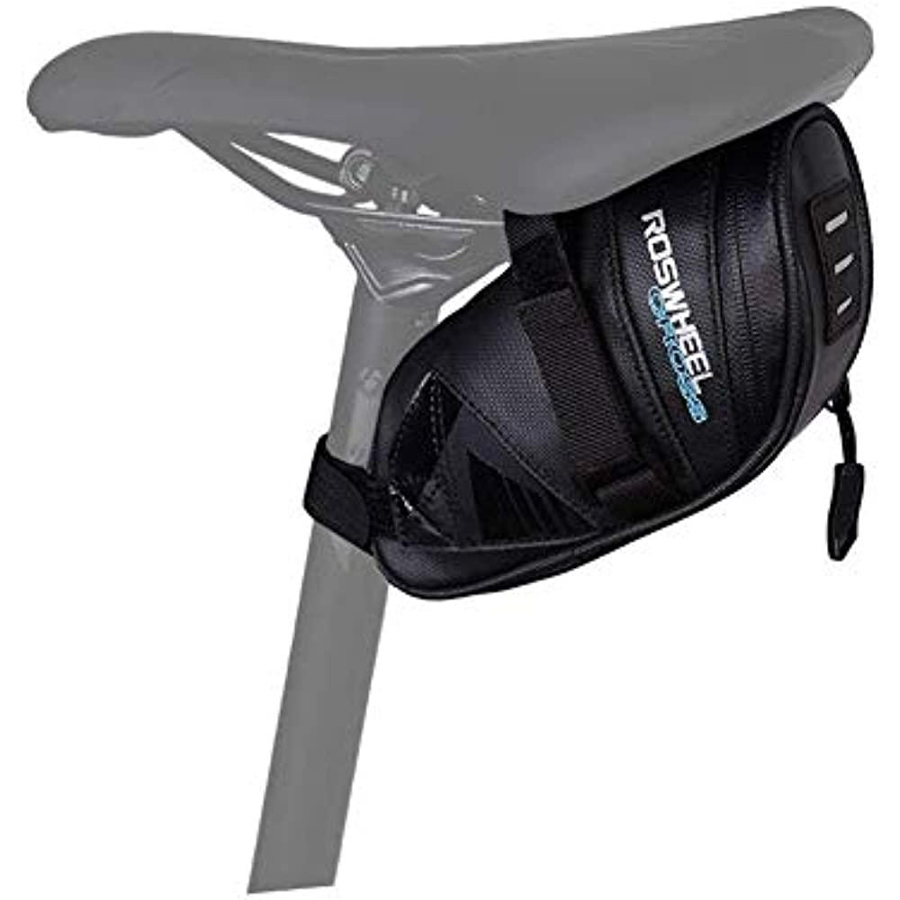 ROSWHEEL Cycling 8L Bicycle Pannier Bag Rear Seat Saddle Bag Water Resistant