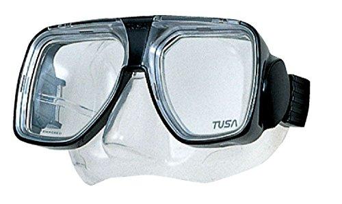 TUSA TM-5700 Liberator Plus Scuba Diving Mask, Black
