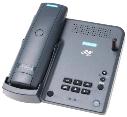 Siemens 2415 Gigaset 2.4 GHz Cordless Phone System with Caller ID and Answering Device