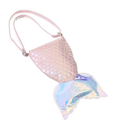 ♛Shiretel Bag Girls Cute Shoulder Bag Fashion Storage Bag Ladies Cosmetic Bag Laser Diagonal Package