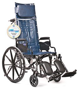 "New Invacare Tracer SX5 Recliner Wheelchair 16"" Wide"