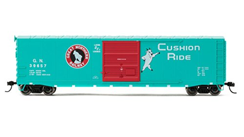 Rivarossi #39657 Great Northern Box Car with Sliding Door (HO Scale) (Door Ho Scale)
