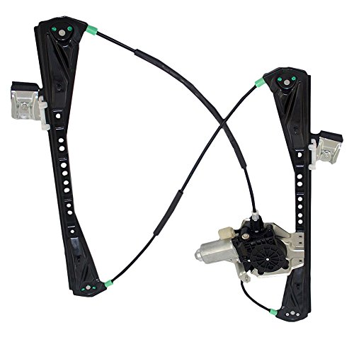 Drivers Front Power Window Lift Regulator with Motor Assembly Replacement for Lincoln LS Jaguar S Type YW4Z5423209AA by AUTOANDART