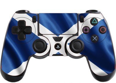 scotland flag playstation 4 ps4 controller sticker skin decal