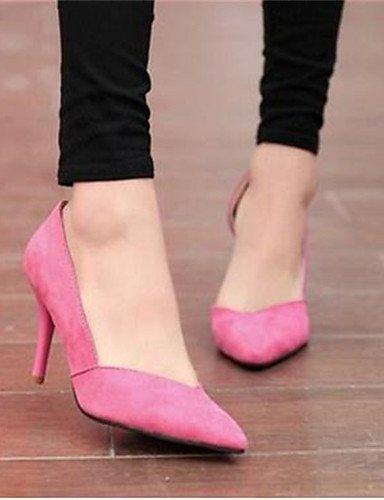 GGX/Damen Schuhe Synthetik Stiletto Heel Heels Heels Office & Karriere/Kleid Schwarz/Blau/Pink blue-us6.5-7 / eu37 / uk4.5-5 / cn37