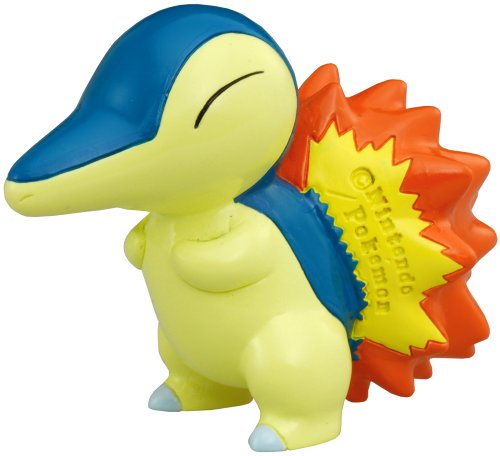 "Takara Tomy Pokemon Monster Collection Mini Figure - 1.5"" Cyndaquil / Hinoarashi (M-074) (Japanese Import)"