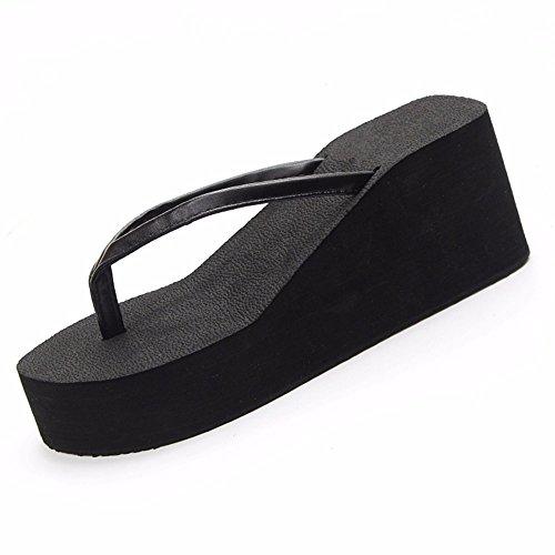 da 39 Summer Donna scivoloso semplice spesso 37 anti sandali fondo scarpe moda YMFIE spiaggia pizzico trainare piscina B0fxqax