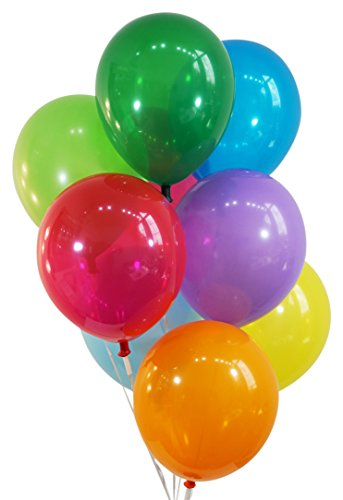 Jewel Assorted Latex Balloons - Creative Balloons 12