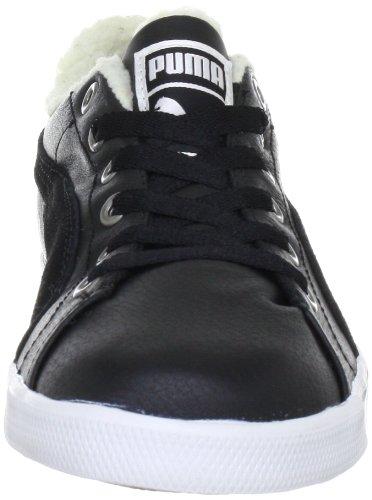 feabdcbf5751 Puma Benecio Lo Fur WTR 352728 Unisex - Erwachsene Klassische Sneakers  Schwarz (black-white ...