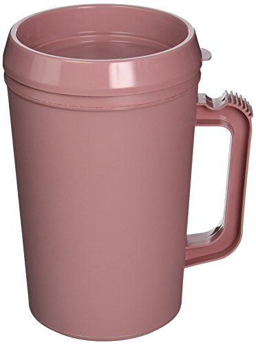 Medegen Medical Products 10906 Cover for H208-10 Insulated Pitchers, Dusty Rose (Pack of 24) by Medegen Medical Products (Image #1)