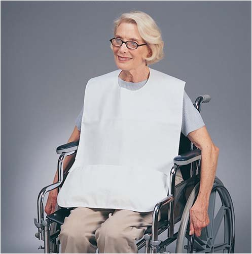 Skil-Care Corp. (n) Barrier Bib With Catch Pocket