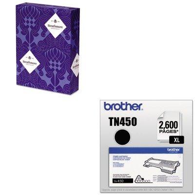 KITBRTTN450STT190611 - Value Kit - Mohawk Premium Sulphite Business Stationery (STT190611) and Brother TN450 TN-450 High-Yield Toner (BRTTN450)