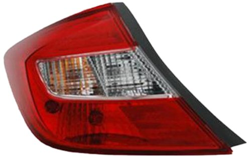 OE Replacement Honda Civic Left Tail Lamp Assembly Multiple Manufacturers HO2800180V
