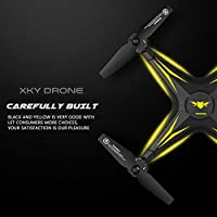 Hanbaili KY501 Drone with WIFI Camera Real-time Transmission,One Key Takeoff/Landing/Return 3D Flips Aerobatics Drone with Headless for Kids & Beginners