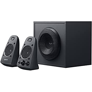 Logitech Z625 - Powerful THX Sound 2.1 Speaker System for TVs, Game Consoles & Computers (Certified Refurbished)