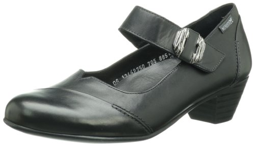 Mephisto Womens Vickie Mary Jane Pump Nero Sely