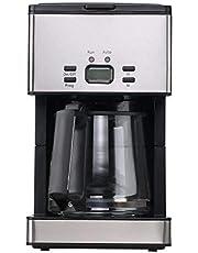 PowerDoF Kaffeemaschine mit einer Kapazität von 1,8L/15-Tassen - Programmierbare Edelstahl-Kaffeemaschine