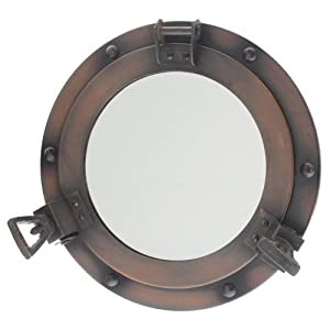 418C5DArhyL._SS300_ 100+ Porthole Themed Mirrors For Nautical Homes For 2020