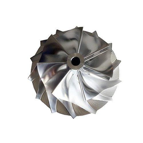 GENERIC HX40/HE351 62.00/85.98mm 7+7 blades 4035879 upgrade Turbocharger Billet/milling/aluminum 2618 compressor wheel RUICHENG