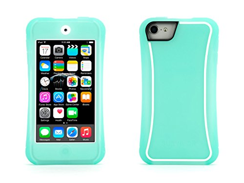 Griffin Green/White Survivor Slim Protective Case for iPod touch (5th/ 6th gen.) - Mil-Spec Rugged Case Slimmed Down for the Street
