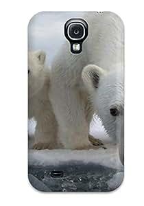 Premium Tpu Polarbears Cover Skin For Galaxy S4
