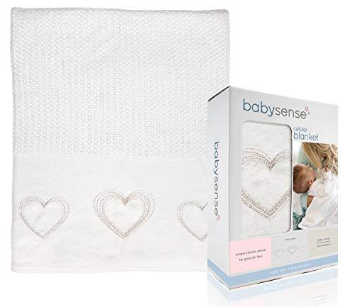 Baby Sense Cellular Blanket | 35 x 43