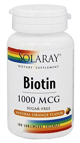 Solaray Sugar Free Natural Sublingual Lozenges product image