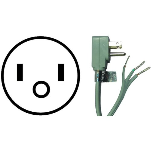 JAYBRAKE 15-0343 Petra 15-0343 Appliance Power Cord (3 Ft) ()