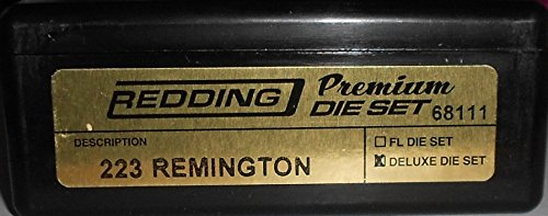 Redding Premium Series Deluxe 3-Die Set 223 Remington by Redding
