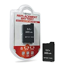 PSP 2000 Slim & PSP 3000 2400 mAh 3.6 V Replacement Battery [Tomee]