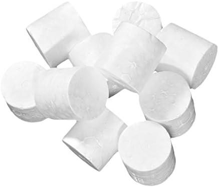 手芸クラフト 発泡スチロール フォーム 子どものおもちゃ 柱 約10個入り 全2サイズ - 3.9x3.9cm