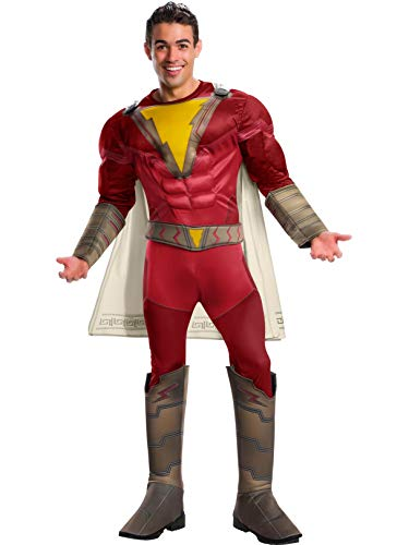 Rubie's Men's Adult Deluxe Shazam Costume, Standard, As Shown]()