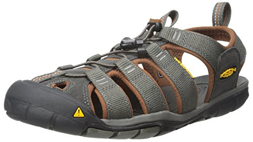 KEEN Men's Clear Water CNX - M Sandal,Raven/Tortoise Shell,10 M US