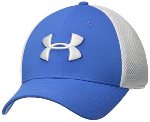 Under Armour Mesh Visor - Under Armour Men's Microthread Golf Mesh Cap, Mediterranean (437)/Academy, Large/X-Large