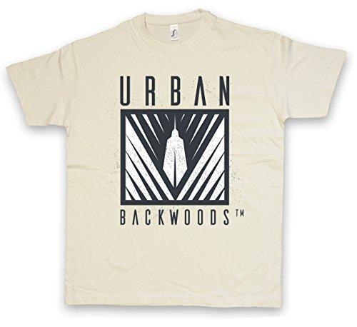 URBAN BACKWOODS B/W II LOGO I T-SHIRT S