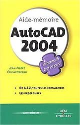 Aide mémoire de AutoCad 2004