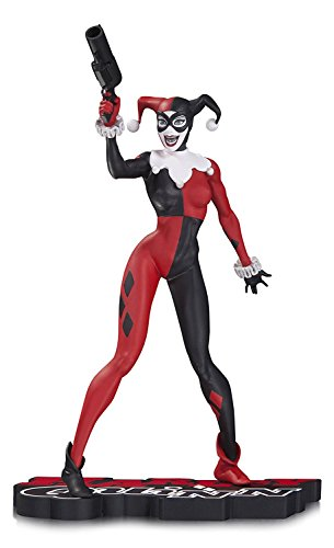 DC Collectibles Harley Quinn Harley Quinn Statue, Red/White/Black -