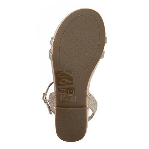 Sandales pour Fille CHEIW 47076 PLATINO-ORO