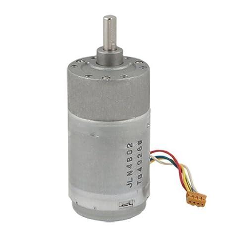 DealMux 37 milímetros 24V DC 1000RPM 0.45A Torque Gear Box Motor - - Amazon.com