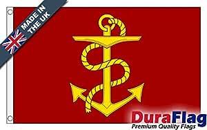 """duraflag® Admirality Junta bandera de calidad profesional (puerta y Cambiadas), 18"""" x 12"""""""