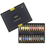 CrushOn@ Mission Gold Class Pure Pigment Watercolors Set 15ml x 24 Colors (7ml x 2ea for Gift) + Free 24 Space Palette by CrushOn