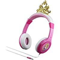 Disney Princess Kid Friendly Headphones with built in volume limiting feature for safe listening
