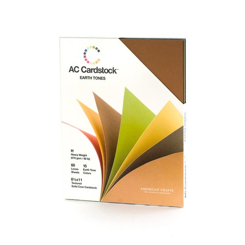 Primary 8-1//2 by 11 American Crafts 8/ /1//5,1/cm by 27,9/cm cardstock variety Pack