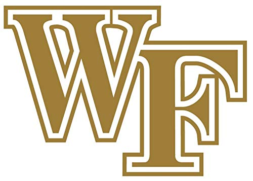 SellingDecals ncaa0215 Wake Forest Demon Deacons WF Die Cut Vinyl Graphic Decal Sticker NCAA Color Choice 8