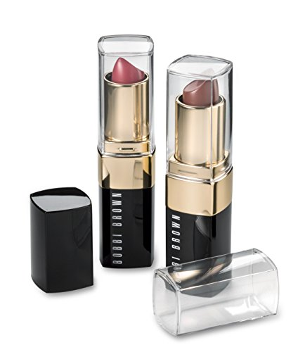 byAlegory Clear Lipstick Caps For BOBBY BROWN - LIP COLOR Lipstick - Replaces Original Cap To See Your Favorite Lipstick Color Easily (12 Pack)
