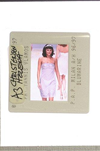 slides-photo-of-helena-christensen-displaying-a-dress-by-blumarine